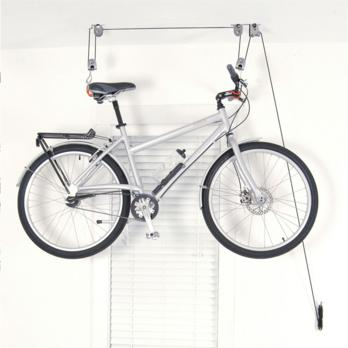 Overhead bike storage  YouTube