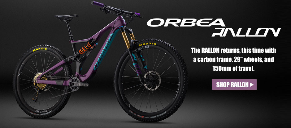 The RALLON returns, this time with a carbon frame, 29
