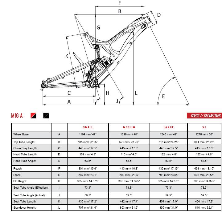 Intense M16 Alloy Palmer Edition Downhill Bike From Bikebling